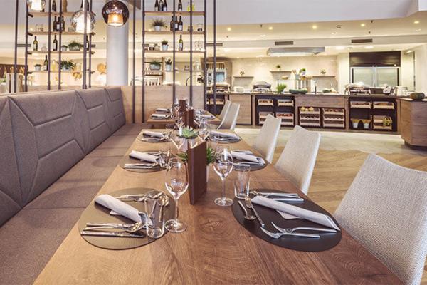 Abendessen im Restaurant Styria in Bad Loipersdorf - DAS SONNREICH****