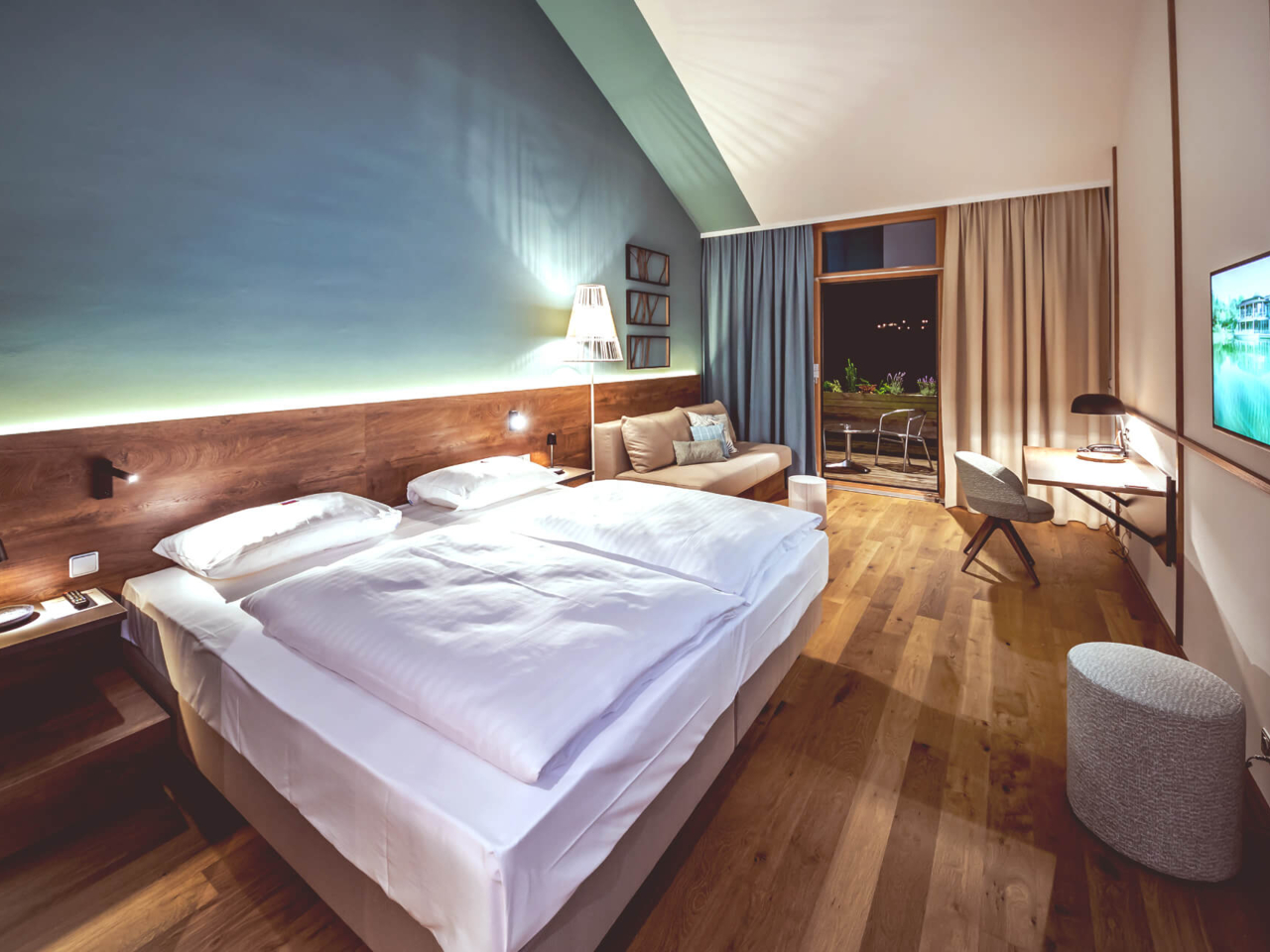 Ausstattung der Premium Doppelzimmer im Sonnreich in Bad Loipersdorf